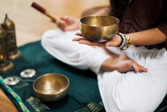 Meditation Klanschalen